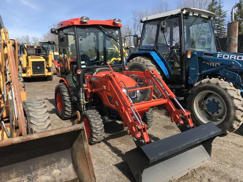 Kioti CK2510 HST tractor loader cab  165hrs