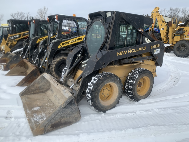 New Holland LX485 skid steer - only 1200 hrs