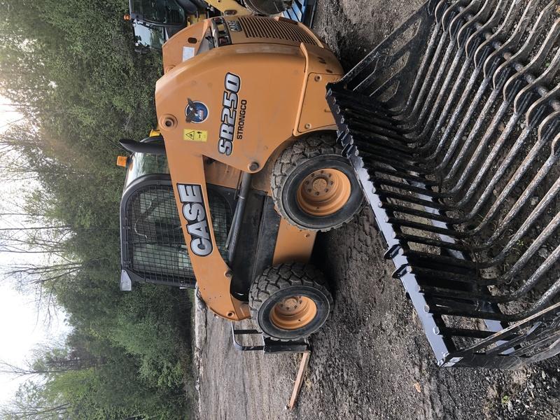 Case SR250 skid steer loader
