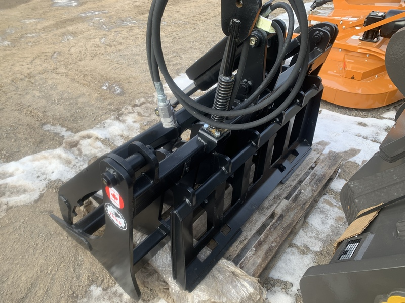 Custom Grapple attachment for skid steer