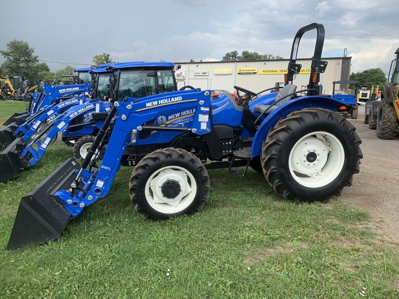 New Holland Workmaster 70 loader tractor