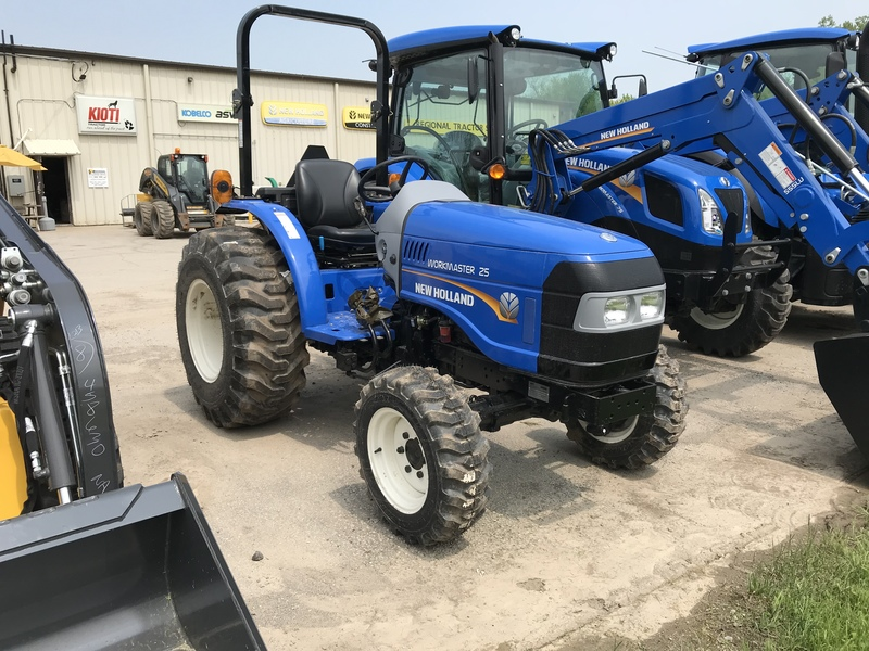 New Holland Workmaster 25 compact tractor