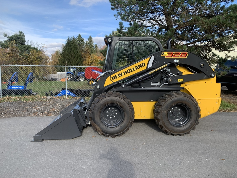 New Holland L328 Skid Steer Loader