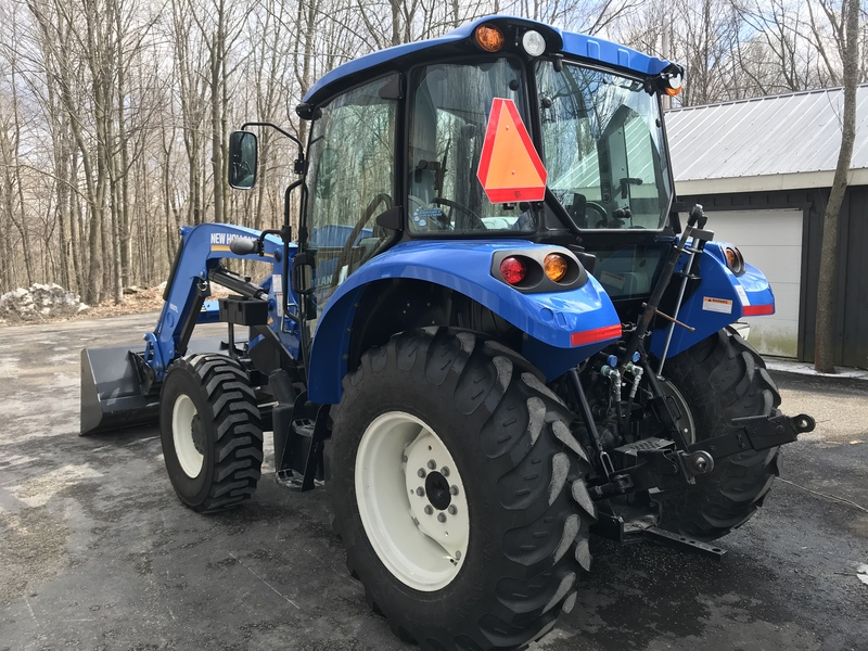 New Holland Powerstar 4.75 Tractor 140hrs only!