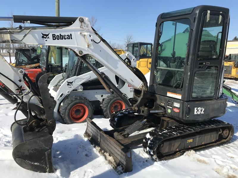 Bobcat E32 mini excavator for sale