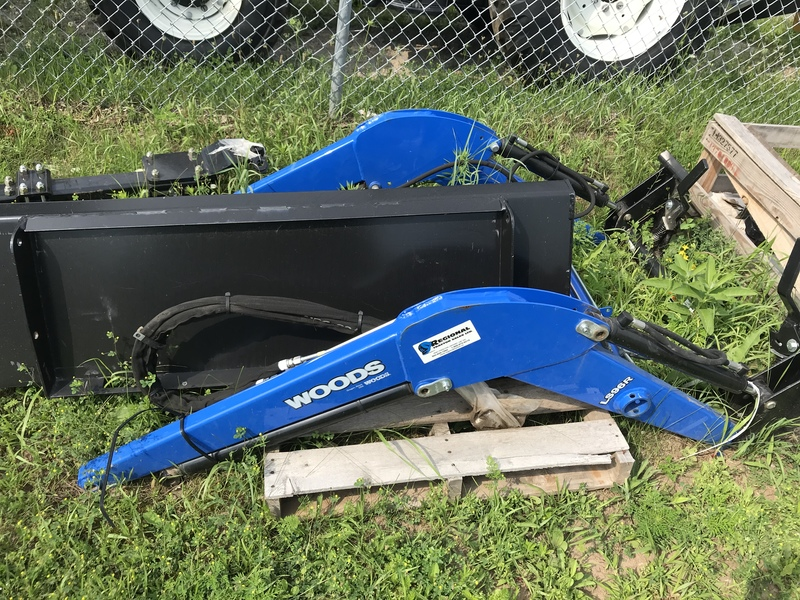 Woods LS96R front end loader for sale