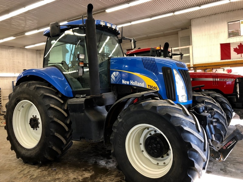 New Holland T8040 tractor for sale