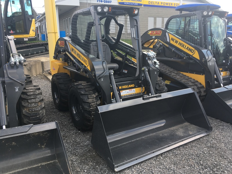 2020 NEW HOLLAND L318 SKID STEER LOADER