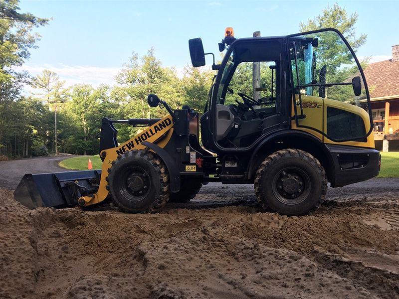 2017 NEW HOLLAND W50C WHEEL LOADER